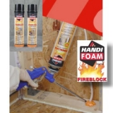 HANDI-FOAM® FIREBLOCK FOAM Low Pressure One-Component Polyurethane Foam Sealants (OCF)
