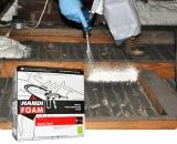 HANDI-FOAM® QUICK CURE Low Pressure Spray Polyurethane Foam (SPF)